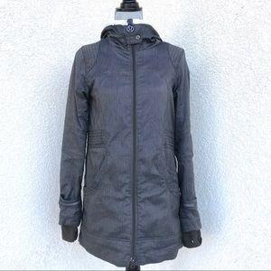 Lululemon Rare Women's Gray Jacket Size Medium